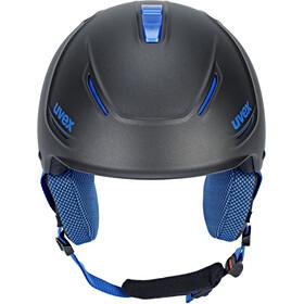 UVEX p1us Pro Kask, black blue mat